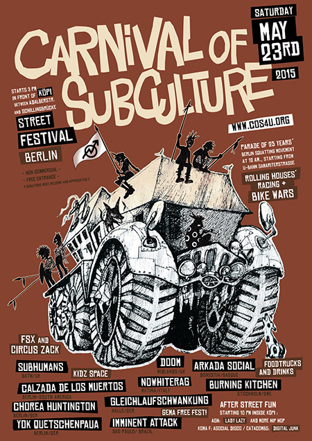 Carneval of Subculture 2015